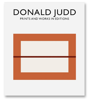 Donald Judd<br/>Prints and Works in Editions 1951-1994