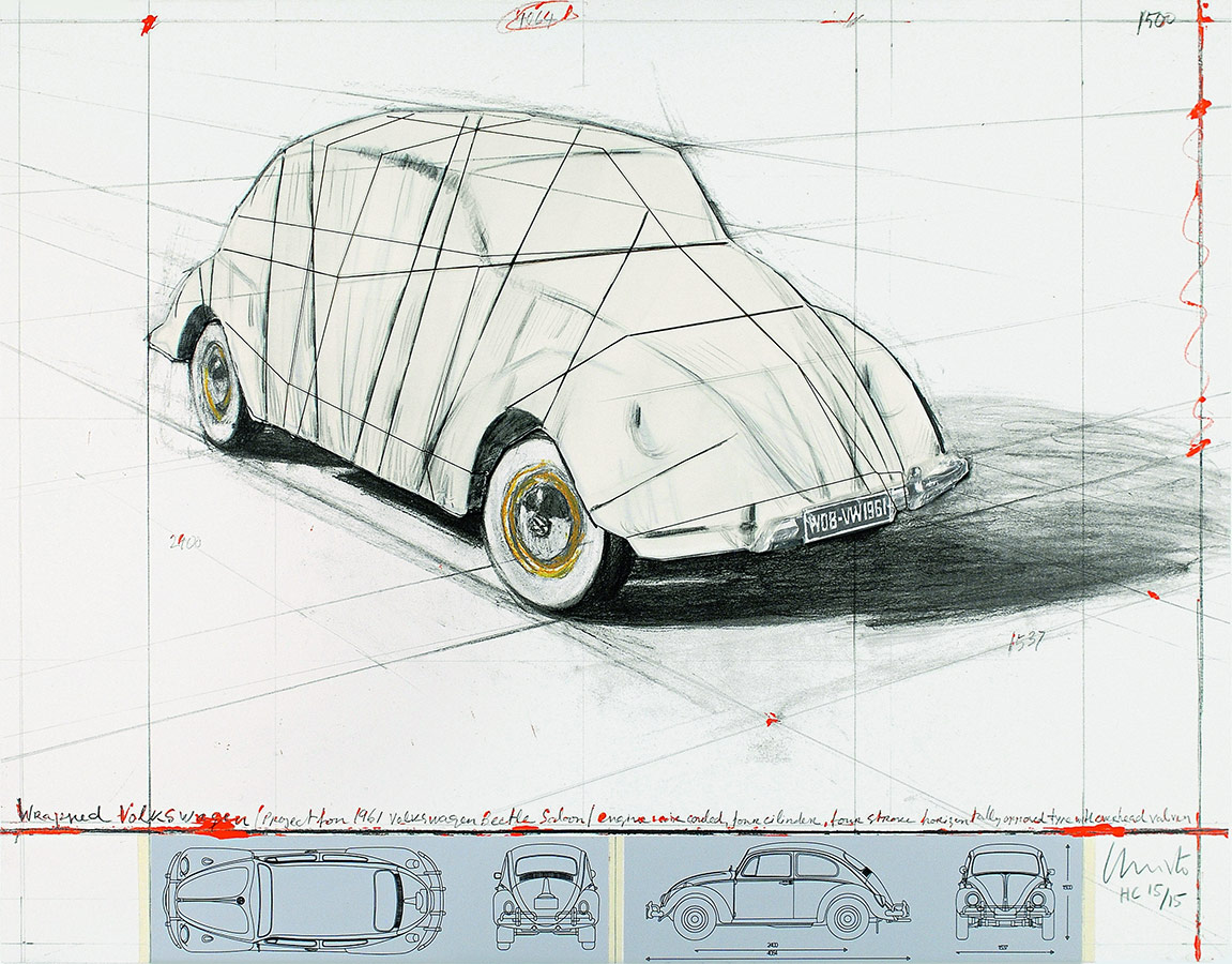 Christo and Jeanne-Claude - Wrapped Volkswagen...