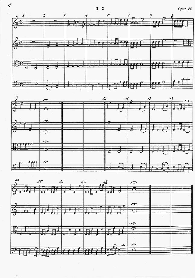 Hanne Darboven - Opus 26