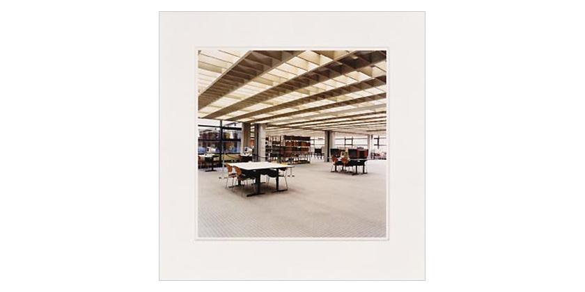 Candida Höfer - Universitätsbibliothek Hamburg