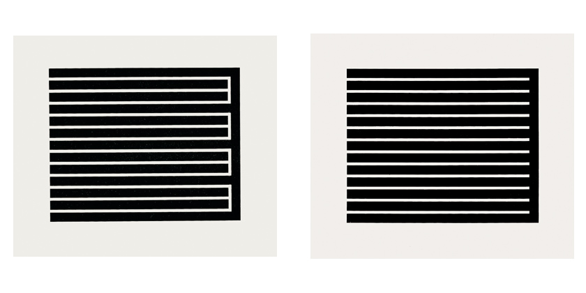Donald Judd - Untitled (Aquatints)