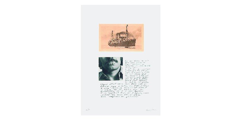 Jannis Kounellis - Untitled (Agamemnone)