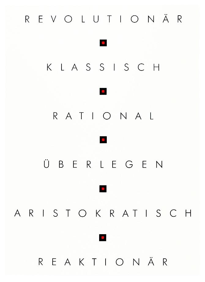 Gerhard Merz - Revolutionär Klassisch Rational ...