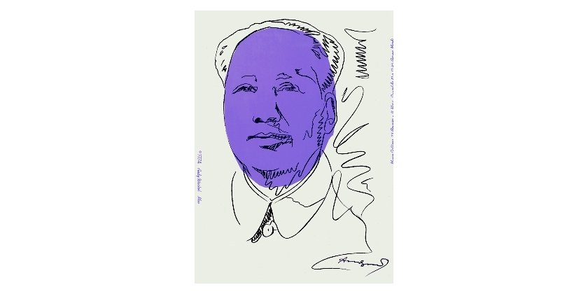 Andy Warhol - Mao