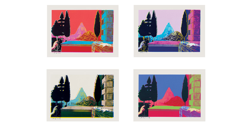 Andy Warhol - Details of Renaissance Paintings