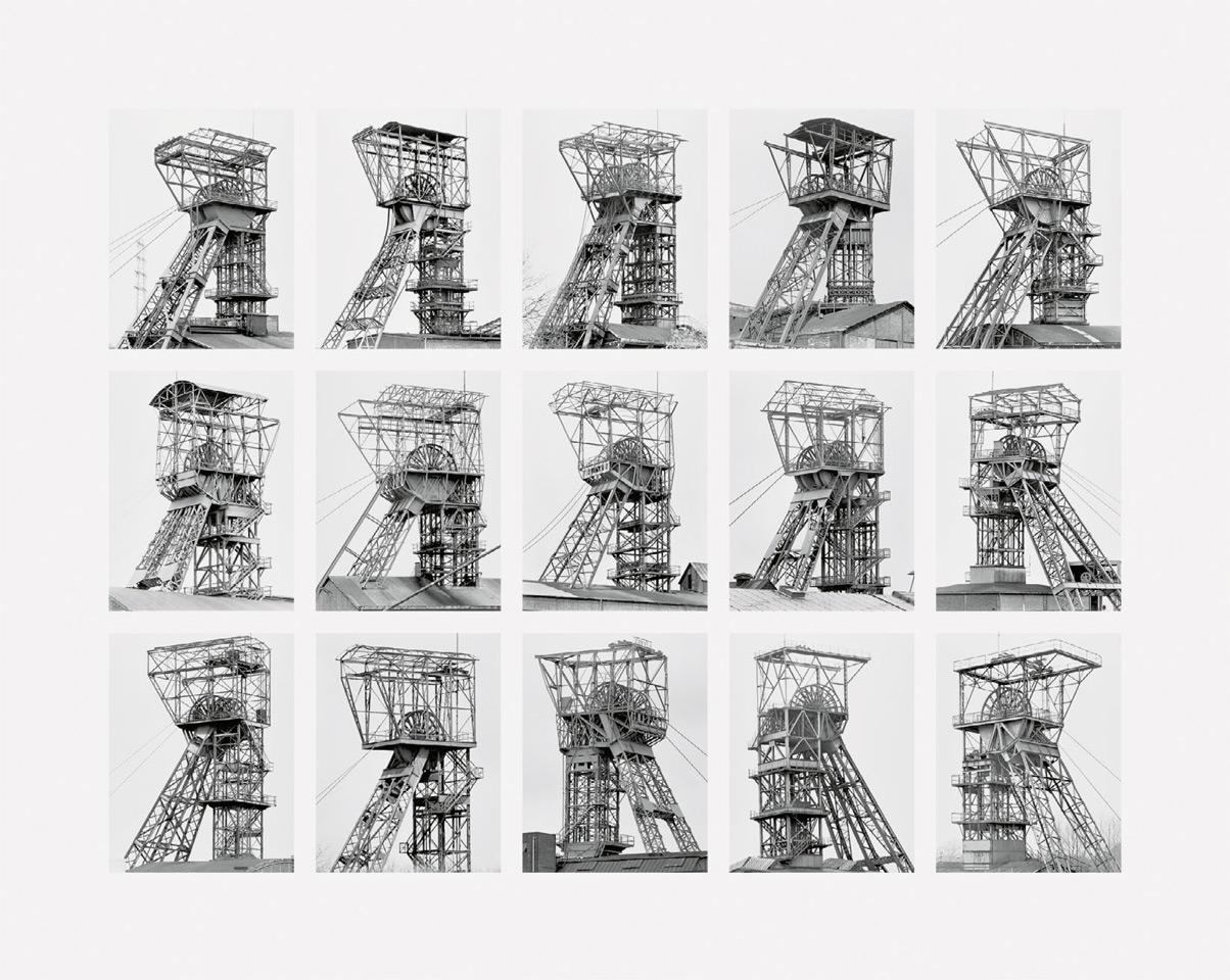 Bernd und Hilla Becher - Fördertürme (Winding Towers)