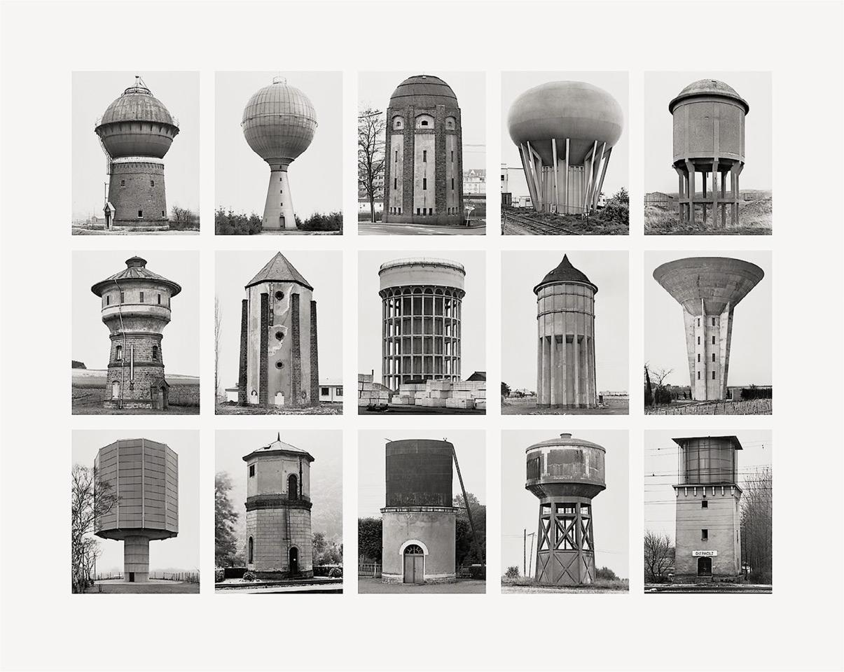 Bernd und Hilla Becher - Wassertürme (Water Towers)