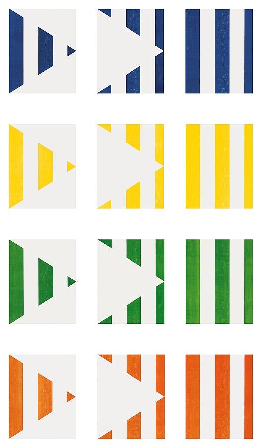 1 + 2 = 3 (Triptych)