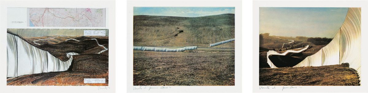 Christo and Jeanne-Claude - Running Fence...