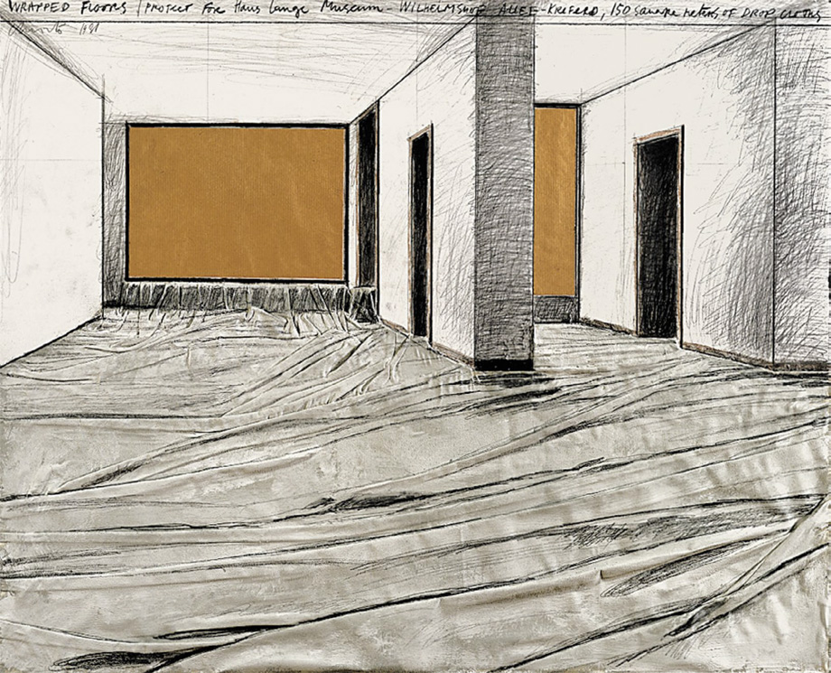 Christo and Jeanne-Claude - Wrapped Floors