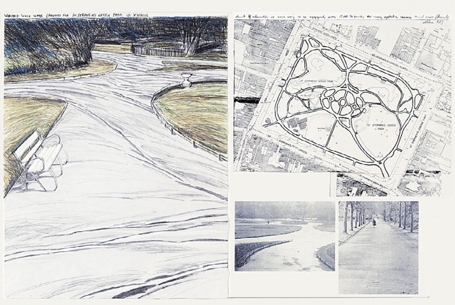 Christo and Jeanne-Claude - Wrapped Walk Ways