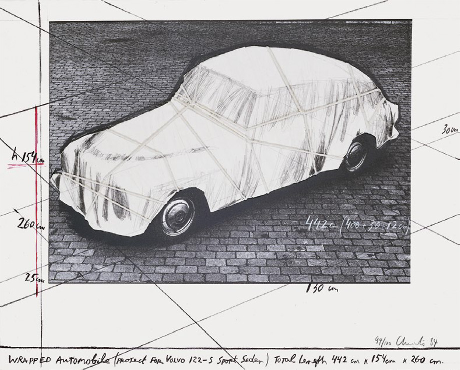 Christo and Jeanne-Claude - Wrapped Automobile (Volvo)