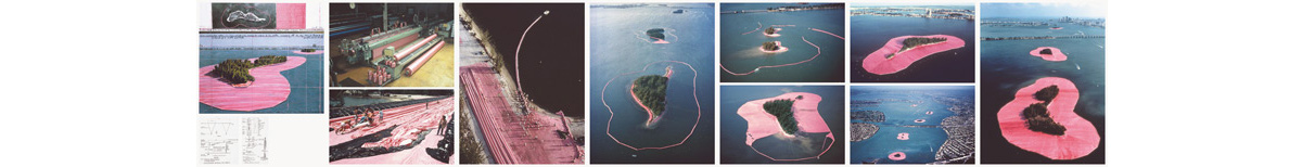 Christo and Jeanne-Claude - Surrounded Islands