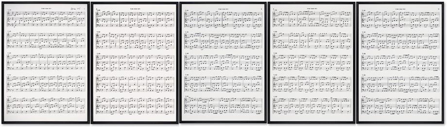Hanne Darboven - Opus 43, Bläsertrio...