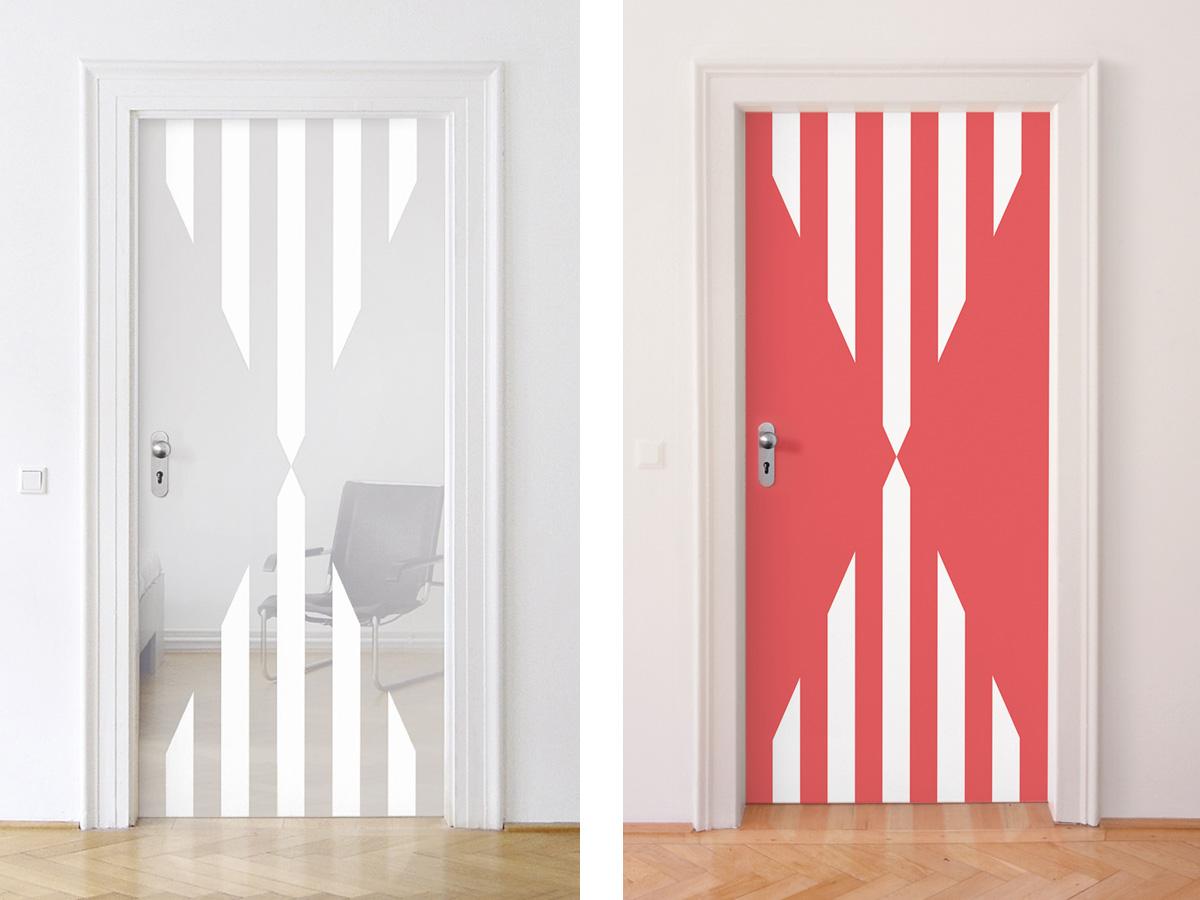 Daniel Buren - Untitled (Door)