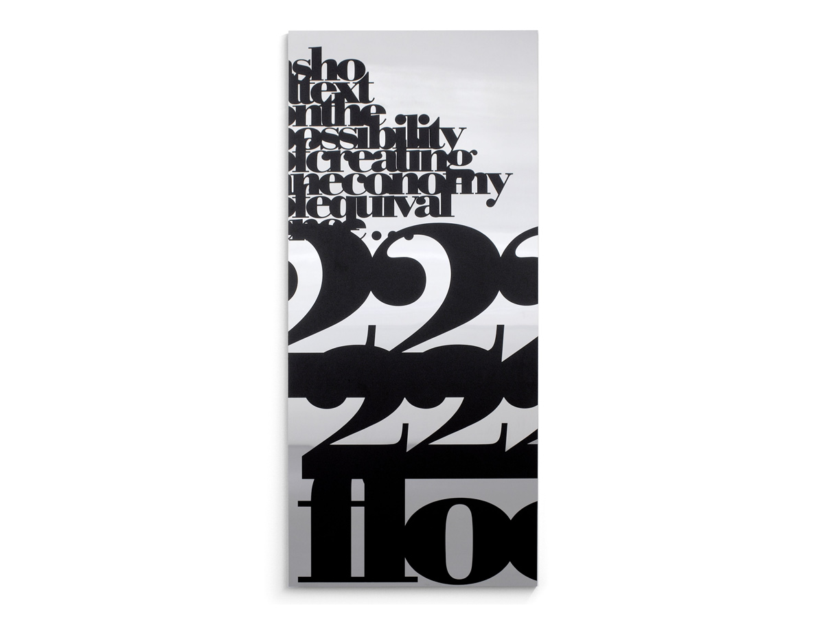 Liam Gillick - A short text on the possibility of creating an economy of equivalence