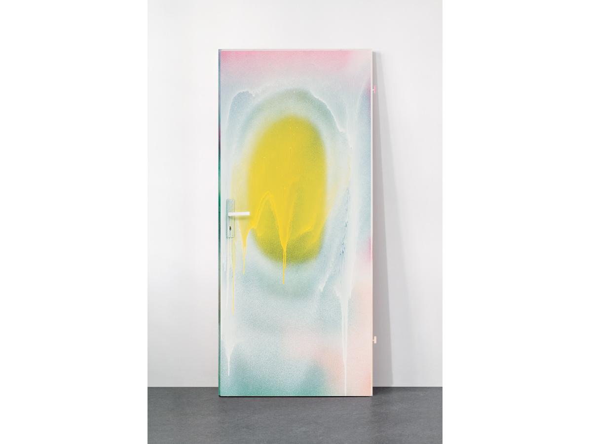 Katharina Grosse - Untitled