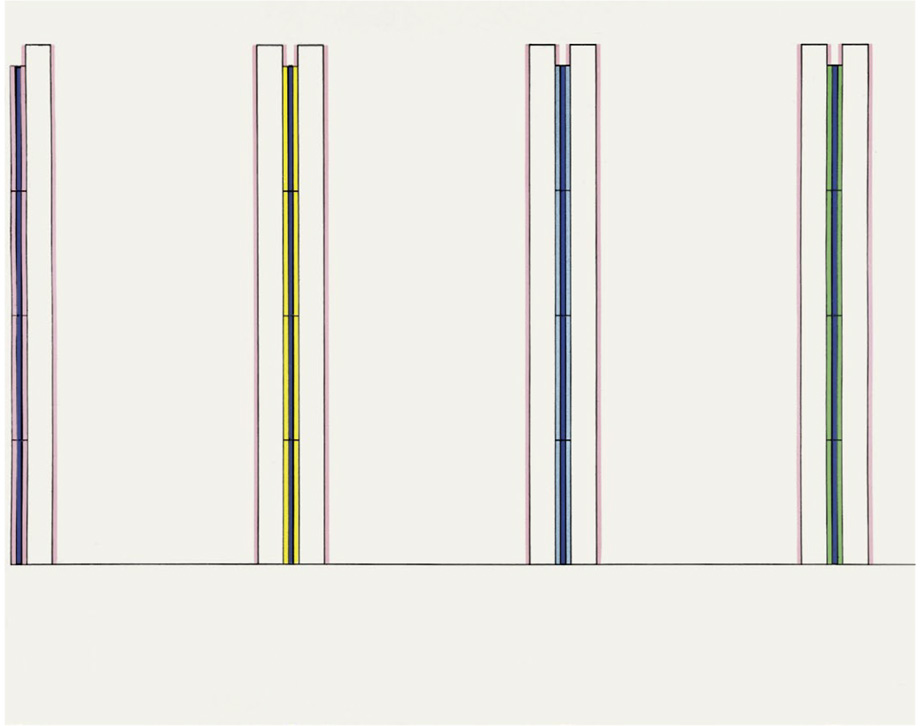 Dan Flavin - Projects 1963-95