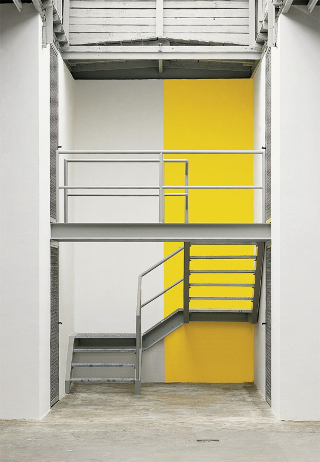 Günther Förg - Wall Partition I