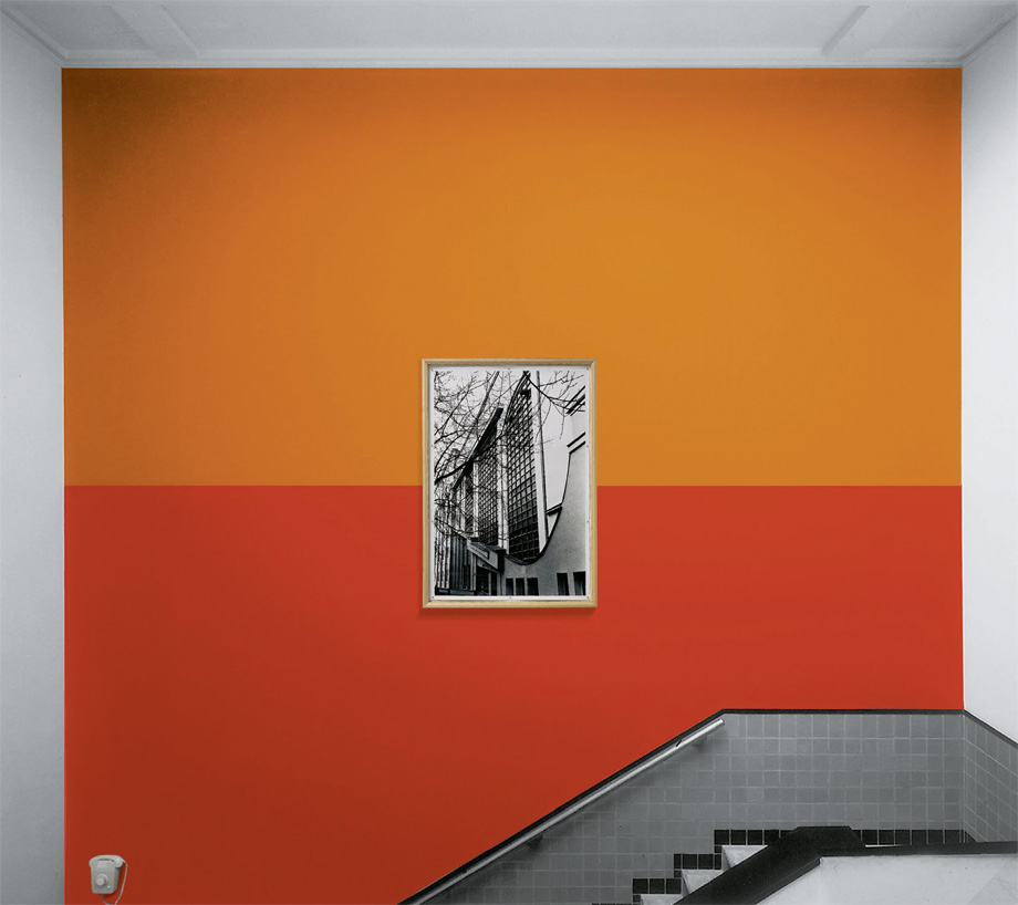 Günther Förg - Wall Partition II