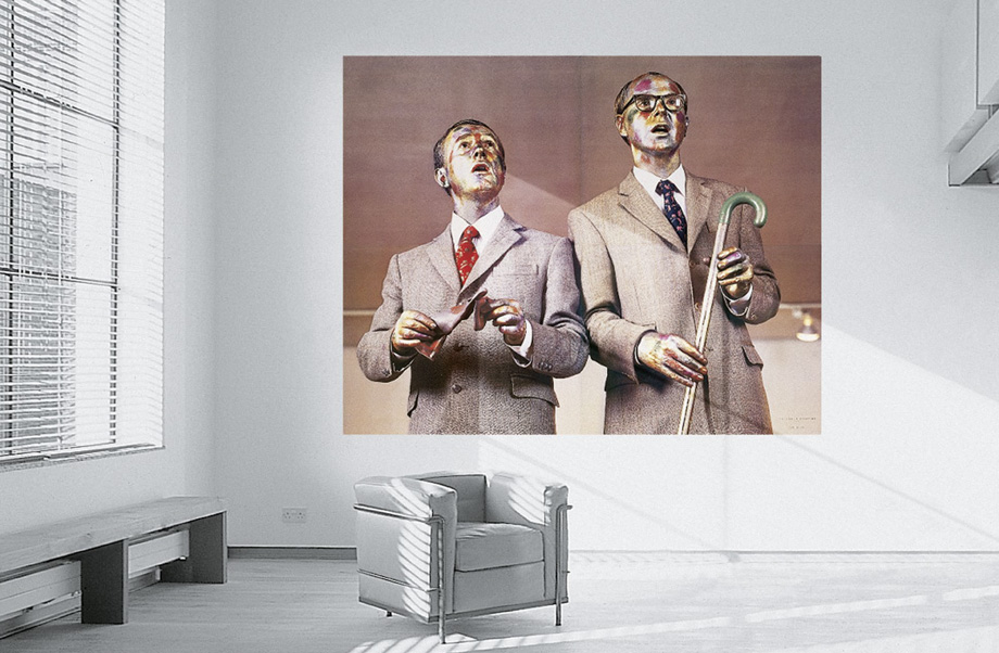 Gilbert and George - The Singing Sculpture