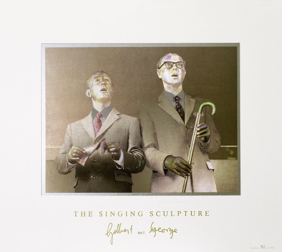 Gilbert and George - The Singing Sculpture 1969-91 [print]