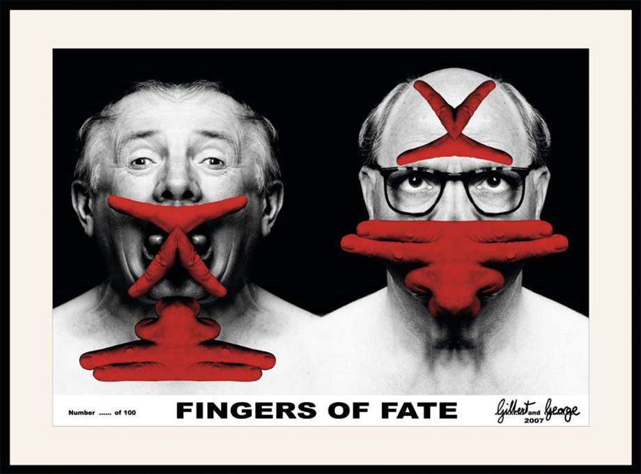Gilbert and George - Fingers of Fate
