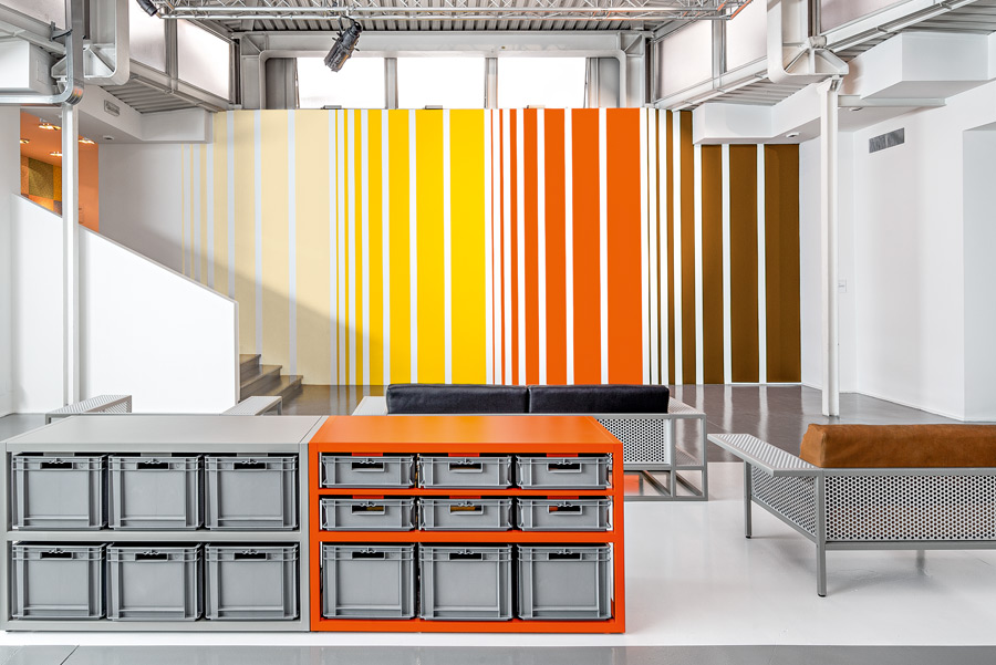 Liam Gillick - 65th Floor Lobby Design