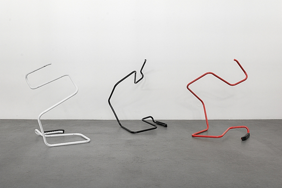 Wade Guyton - Untitled Action Sculptures