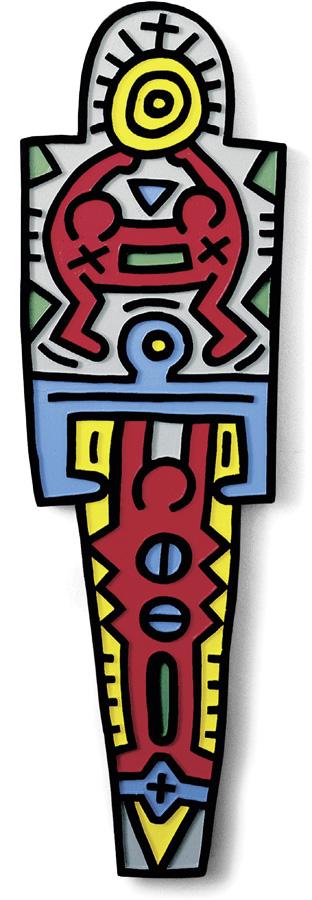 Keith Haring - Totem [wood]