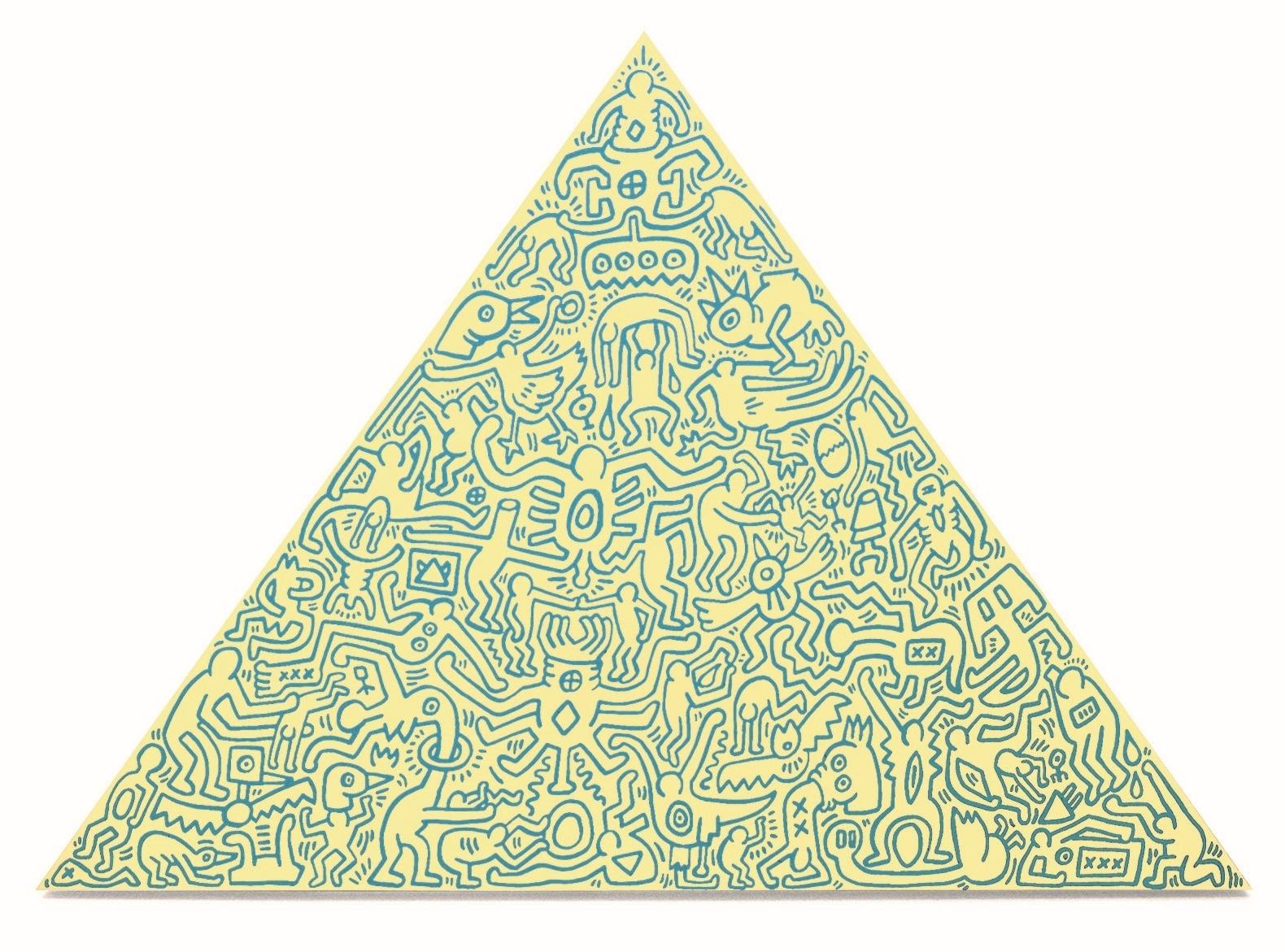 Keith Haring - Pyramid