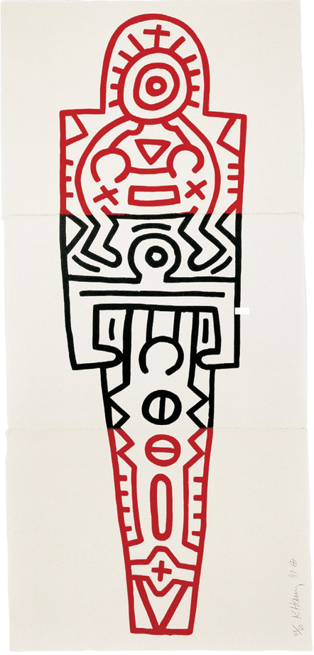 Keith Haring - Totem