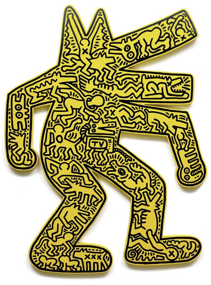 Keith Haring - Dog