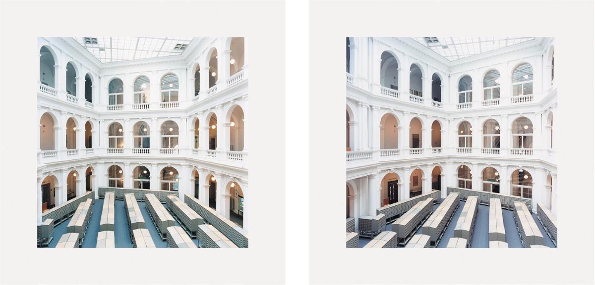 Candida Höfer - Universitätsbibliothek Hamburg A