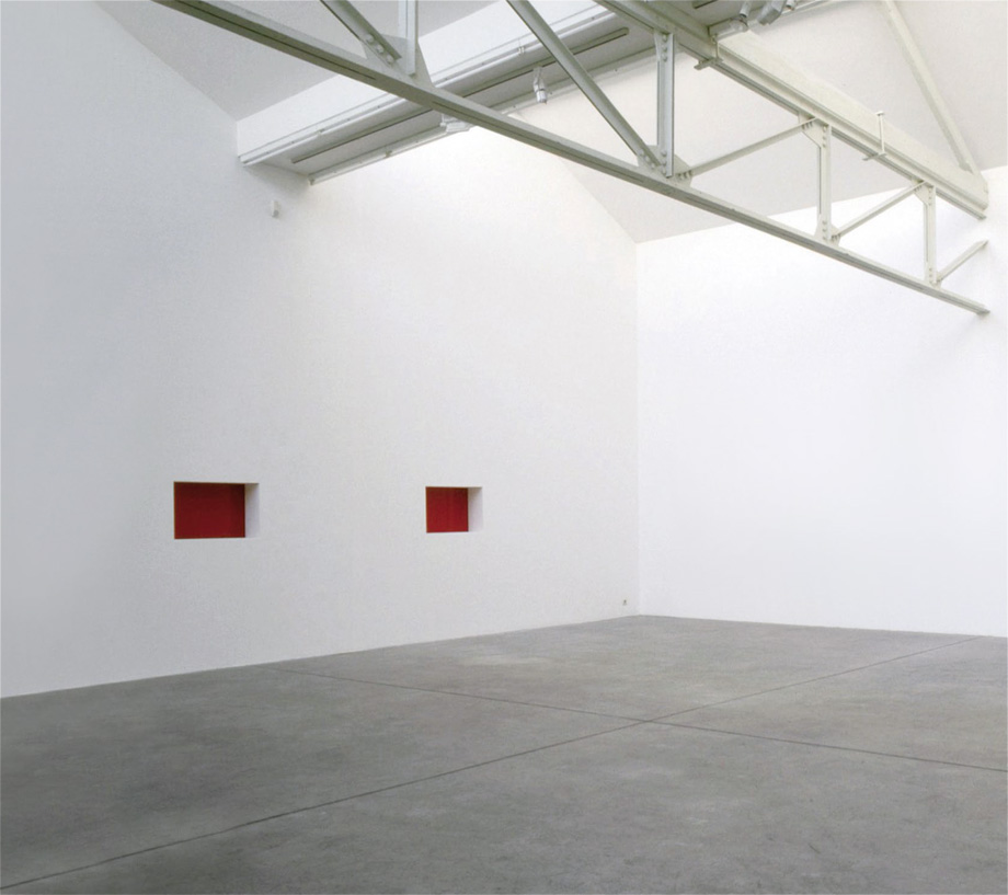 Donald Judd - Untitled (Wall Work)