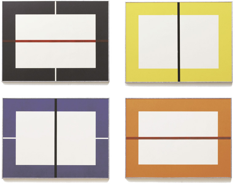 Donald Judd - Untitled (Woodcuts)