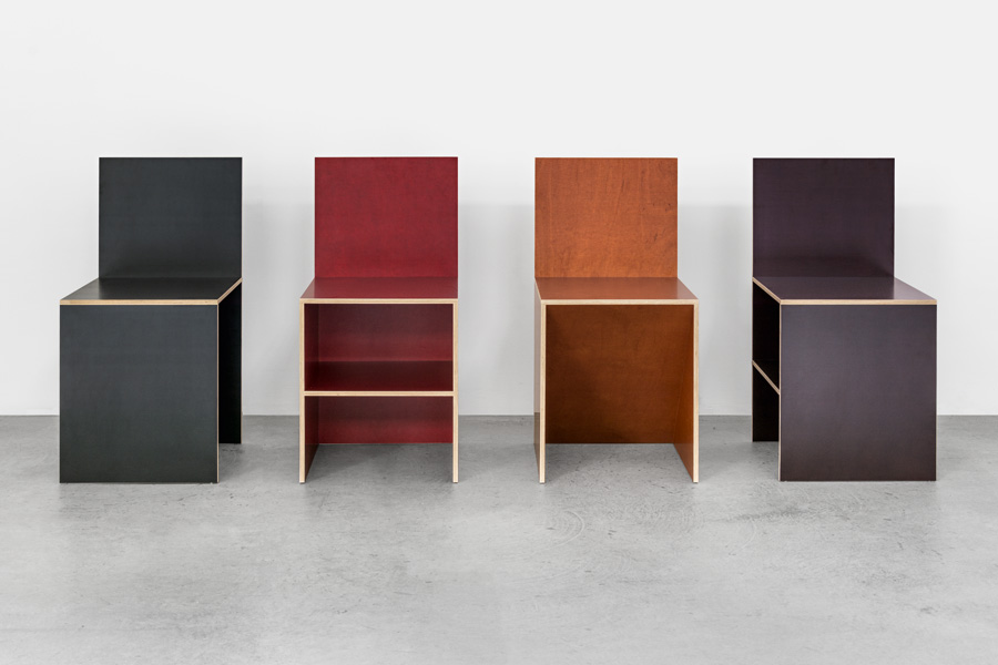 Donald Judd - Chairs
