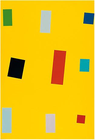 Imi Knoebel - Gelbe Fahne