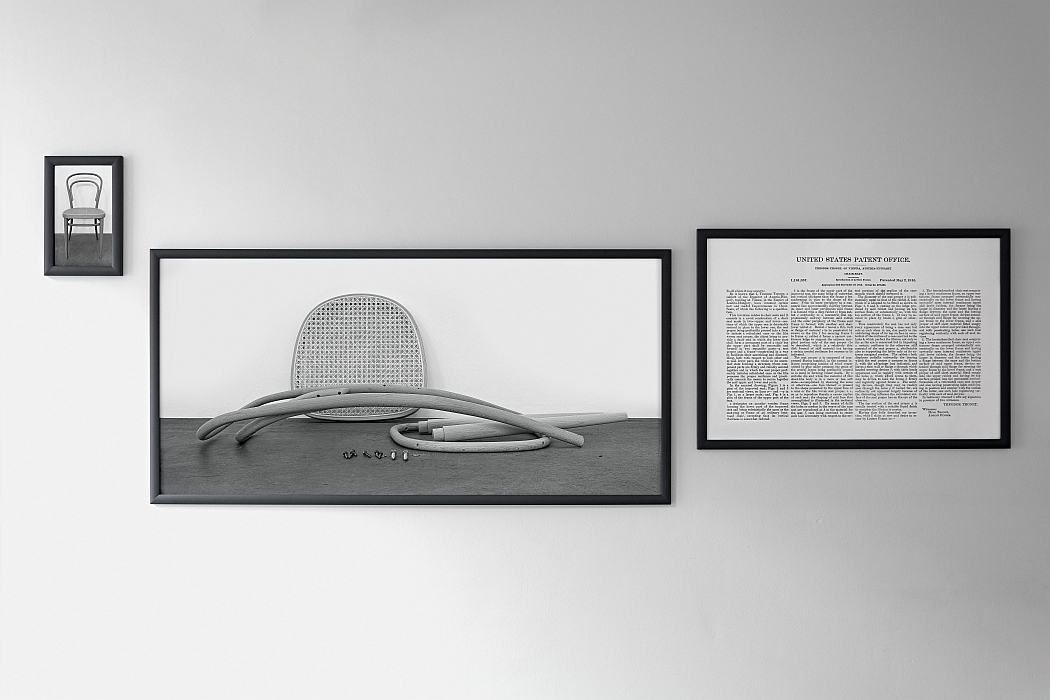 Joseph Kosuth - Thonet in Triplicate