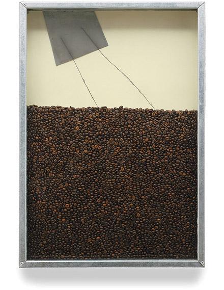 Jannis Kounellis - Untitled (Coffee)