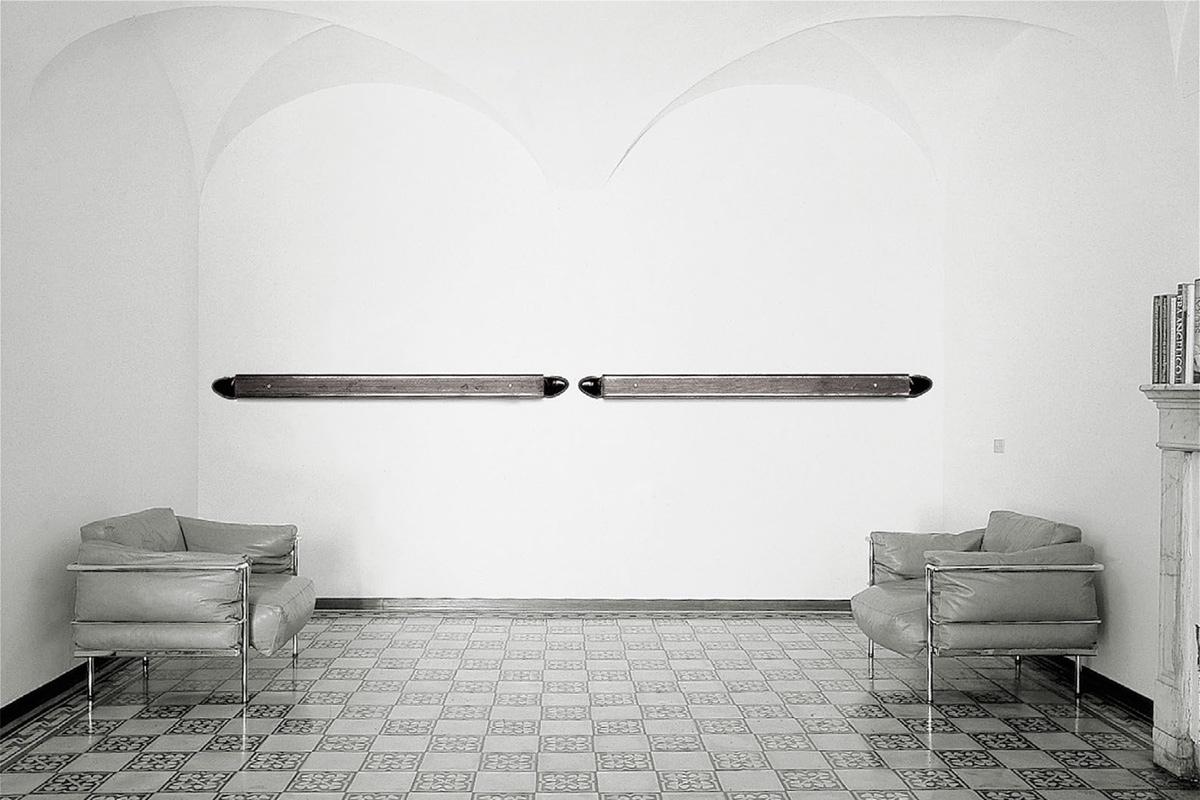 Jannis Kounellis - Untitled (Wall Work)