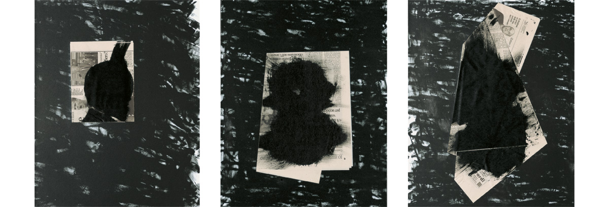 Jannis Kounellis - Senza titolo (Trittico)