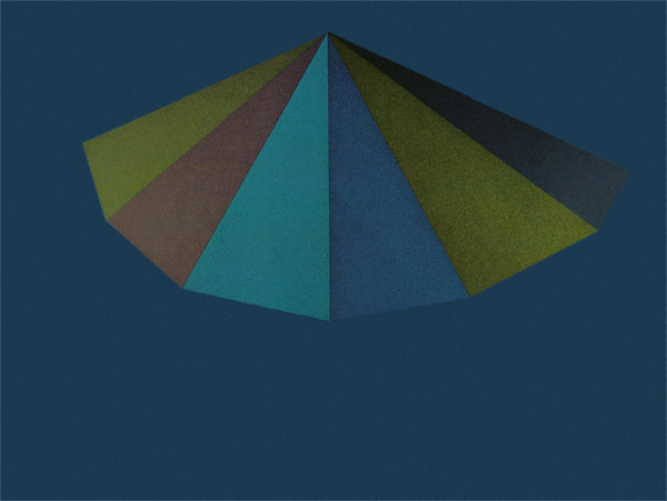 Sol LeWitt - A Pyramid