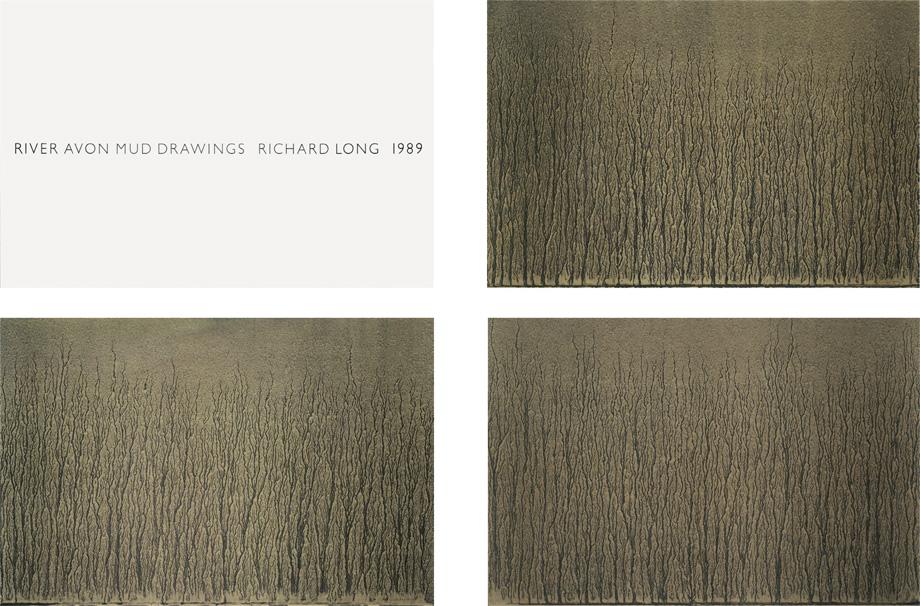 Richard Long - River Avon Mud Drawings