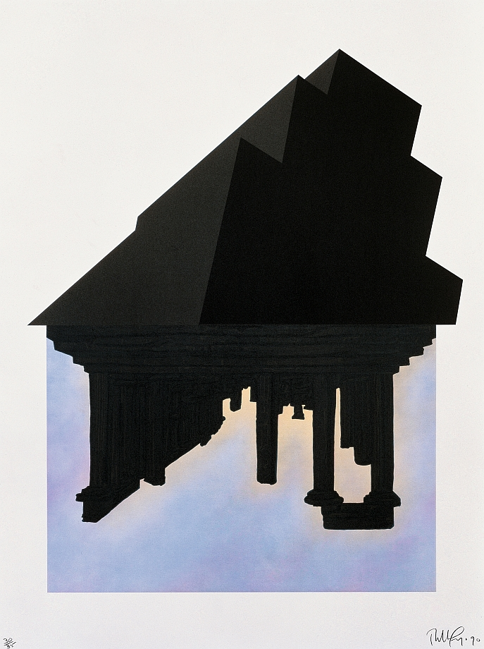 Robert Longo - Black Palms