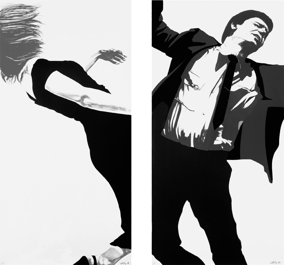 Robert Longo - Joanna and Larry