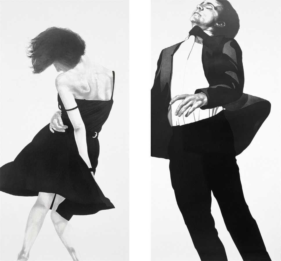 Robert Longo - Meryl and Jonathan
