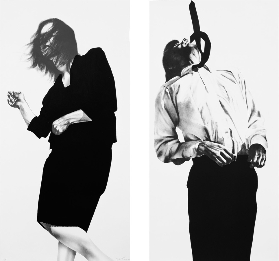 Robert Longo - Gretchen and Eric