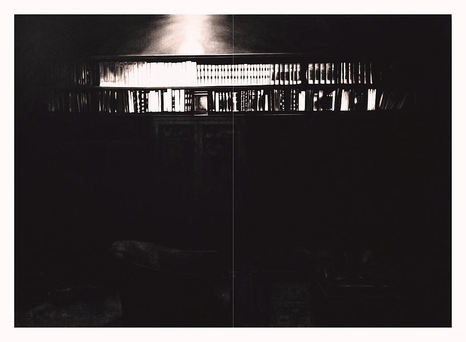 Robert Longo - Bookcase in Study Room