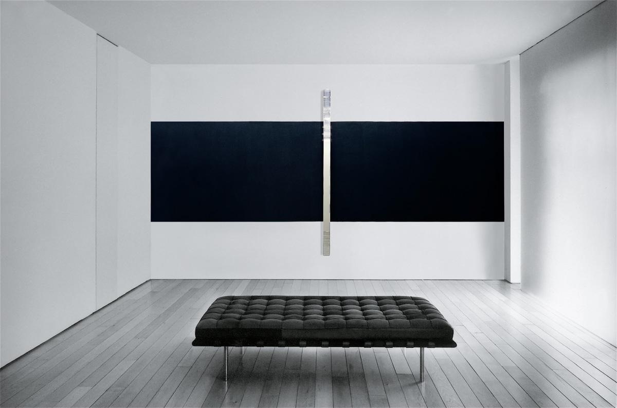 Gerhard Merz - Untitled (Wall Work 1)